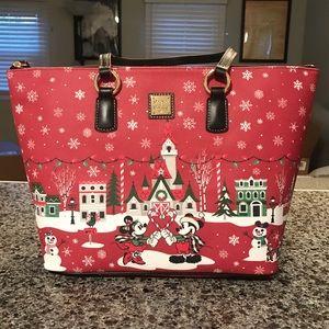 Disney Dooney & Bourke Christmas Tote NWT